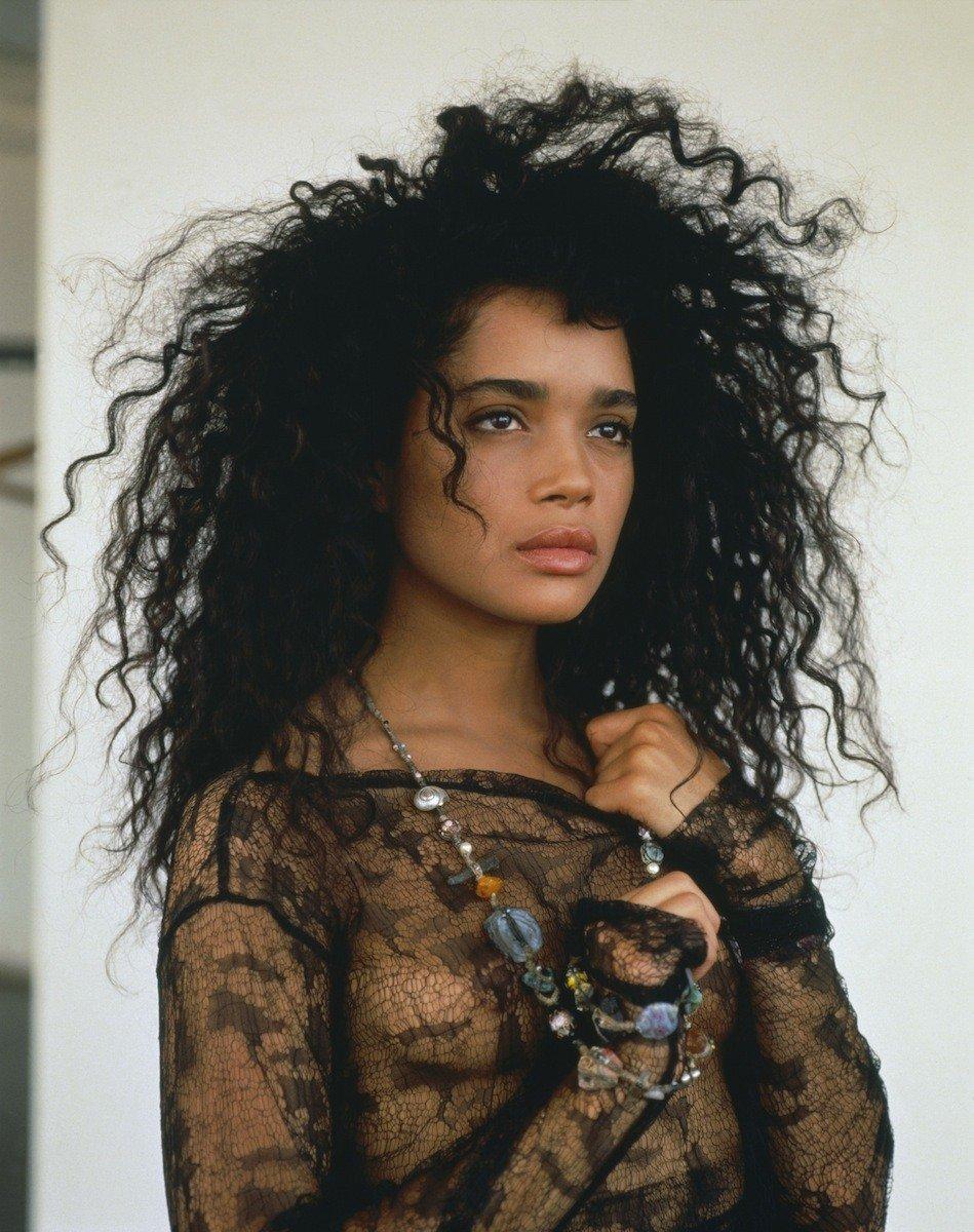 Lisa Bonet modelling in 1988