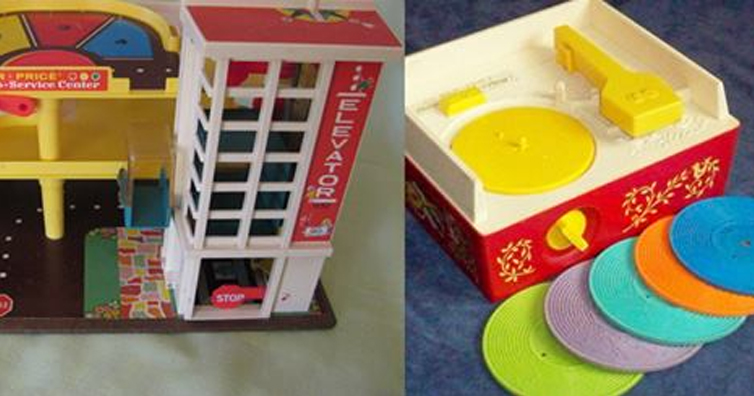 10 Fisher Price Toys We All Played With!