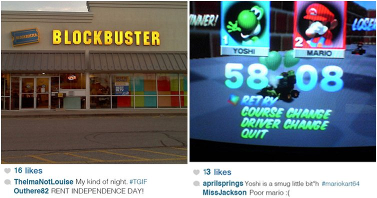 This Is What Instagram Would Look Like In The 90s (16 Photos)