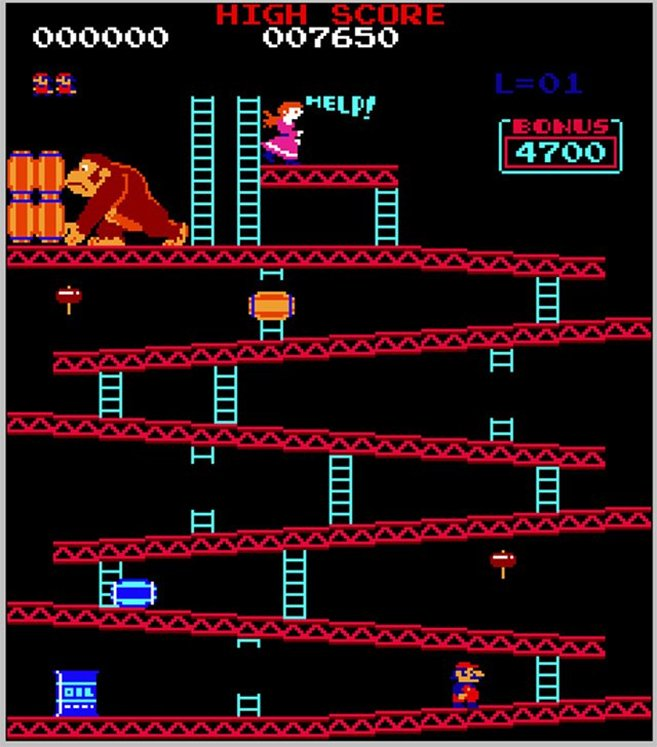 donkey kong 10 Video Arcade Games From The 80s That You Spent All Your Money On!