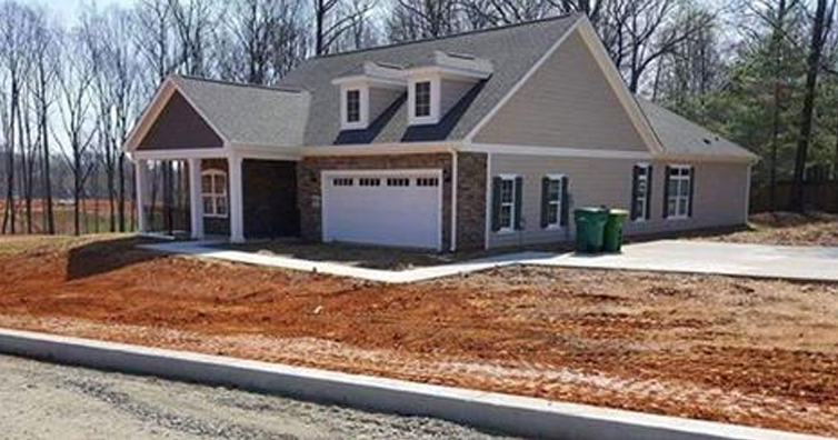 Man Drives By A New House And Notices Something Startling. Do You See It?