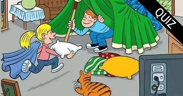 Only 10% People Can Find All The 6 Words Hidden In This Image
