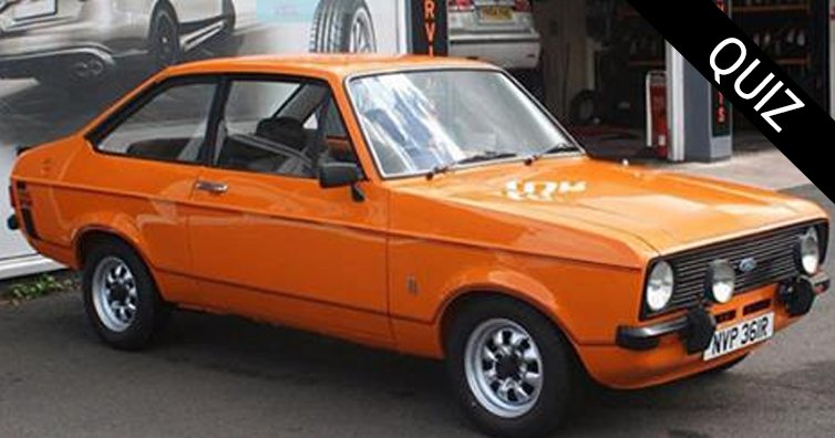 TEST YOURSELF: Can You Name These Cars?