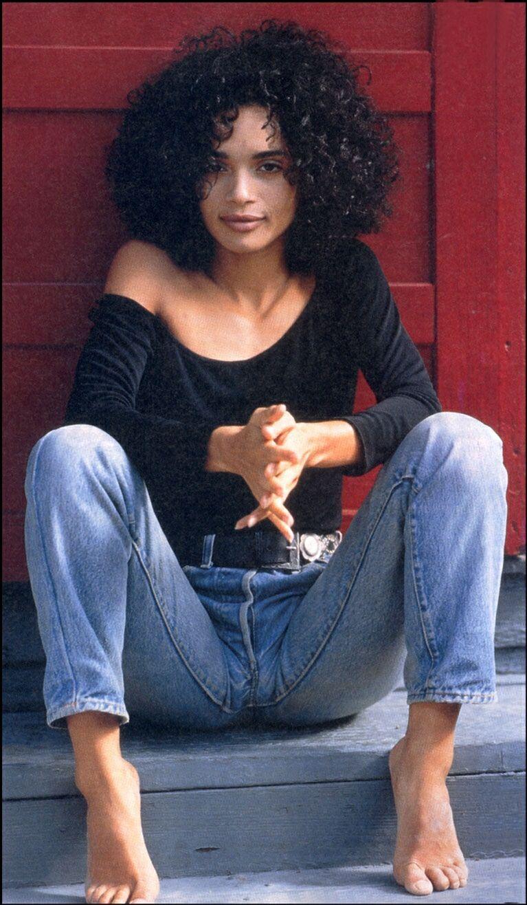Lisa Bonet modelling in the late 1980s