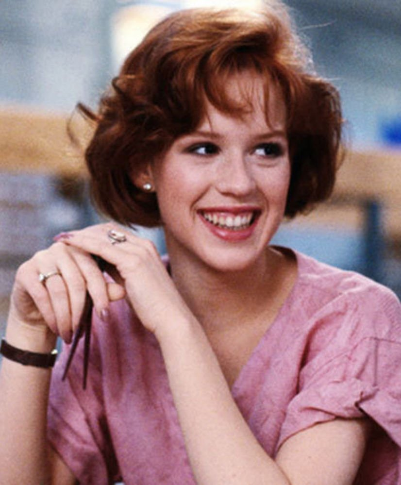 Molly Ringwald as Claire in 1985's The Breakfast Club