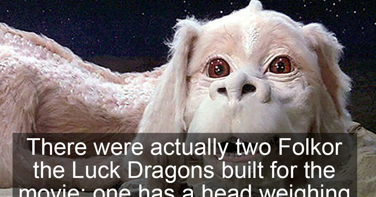 """15 Behind-The-Scenes Facts About """"The Neverending Story"""""""