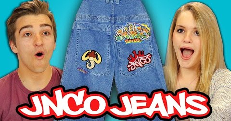 Watch As Today's Teens React To 90s JNCO Jeans