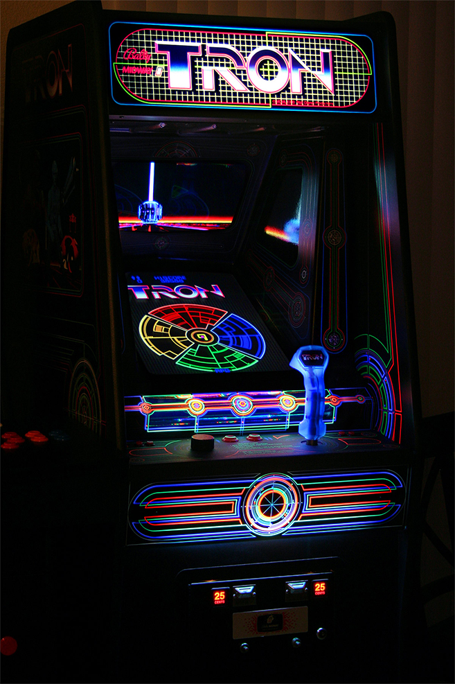 tron arcade 10 Video Arcade Games From The 80s That You Spent All Your Money On!
