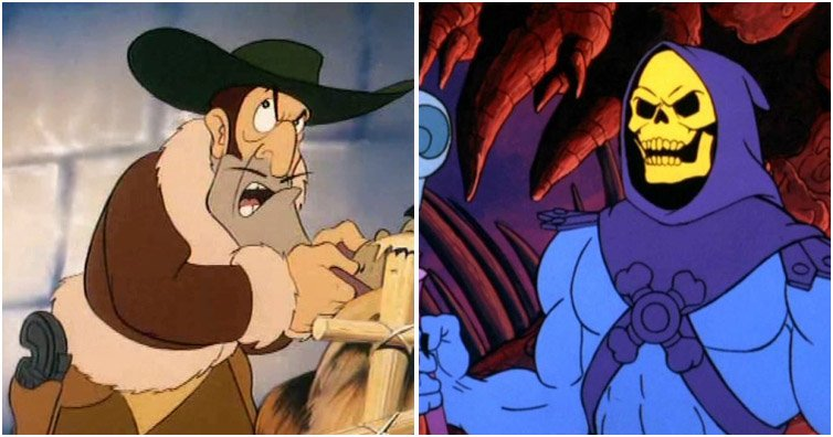 TEST YOURSELF: Can You Match The 80s Bad Guy To The Cartoon?