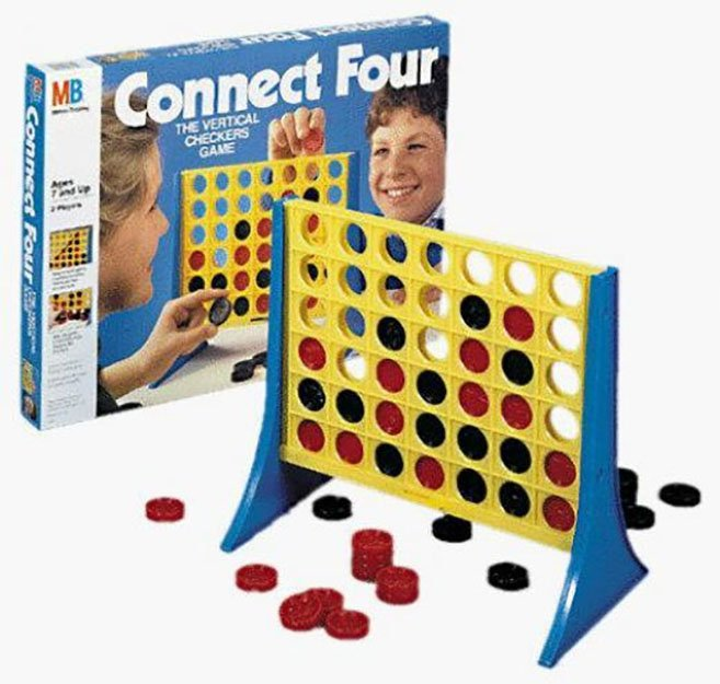 connect four 10 Games That Every 80s Kid Had