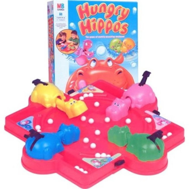 hungry hippos 10 Games That Every 80s Kid Had