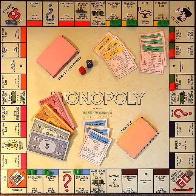 monopoly 10 Games That Every 80s Kid Had