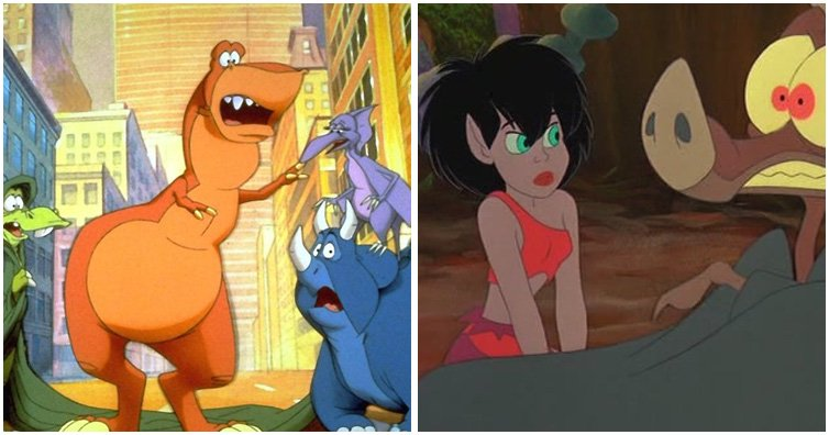 17 Non-Disney Animated Movies We ALL Loved!