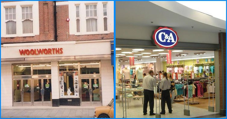 Here Are 10 Shops That We ALL Miss From High Street!