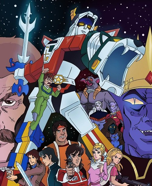 Voltron 15 Cartoons From The 80s That You Totally Forgot About