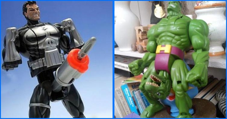 15 Actions Figures You Had That Made No Sense!