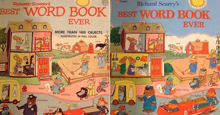 Can You Notice The Changes Made To This Epic Childhood Book We All Loved?