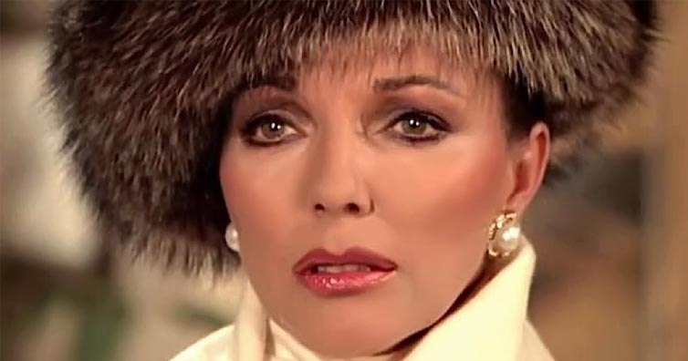 Do You Remember Joan Collins From Dynasty? This Is What She Looks Like Now!