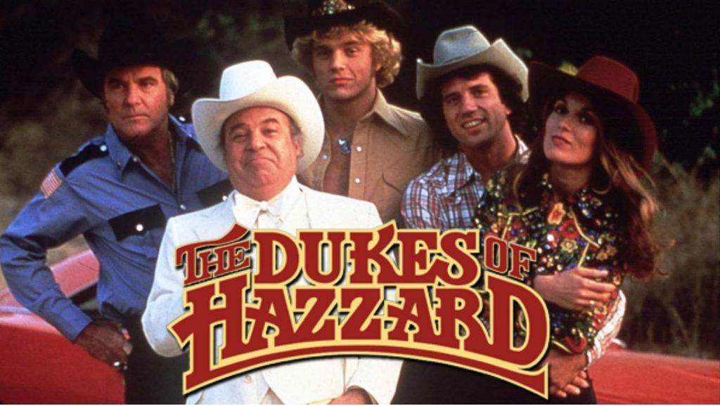 Main cast of The Dukes of Hazzard