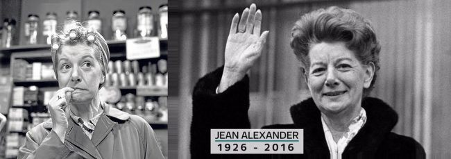 Jean Alexander as Hilda Ogden