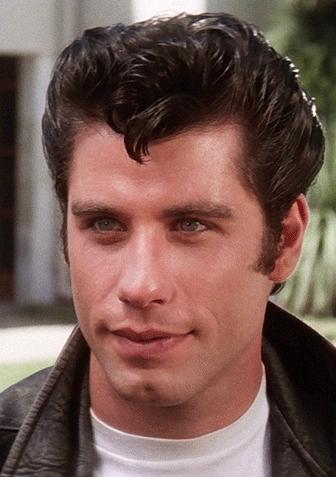 John Travolta as Danny Zuko in Grease