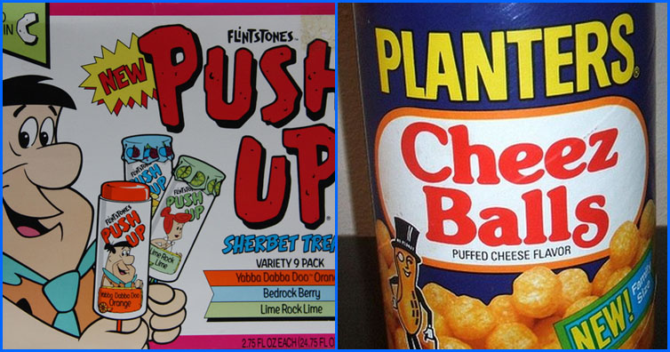 Foods And Drinks From The 80s We Wish We Could Still Find Today (10 Photos)