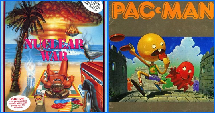 15 Hilarious And Bizarre Video Game Covers From The 80s