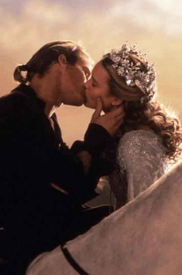 Romantic scene from The Princess Bride