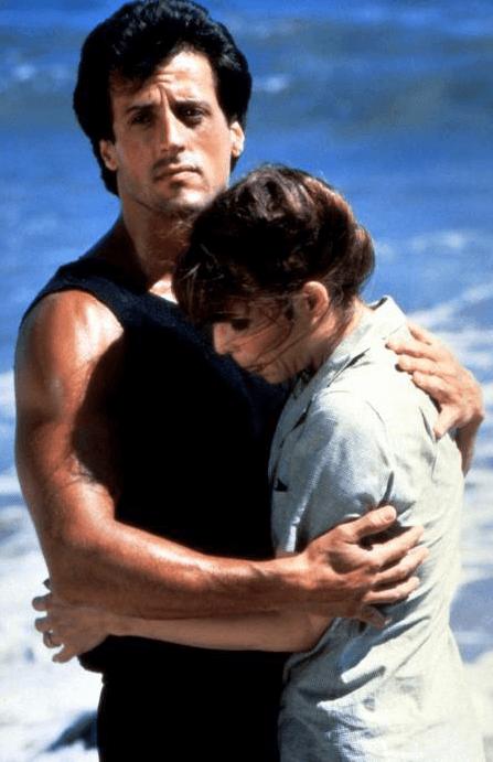 Love scene from Rocky III
