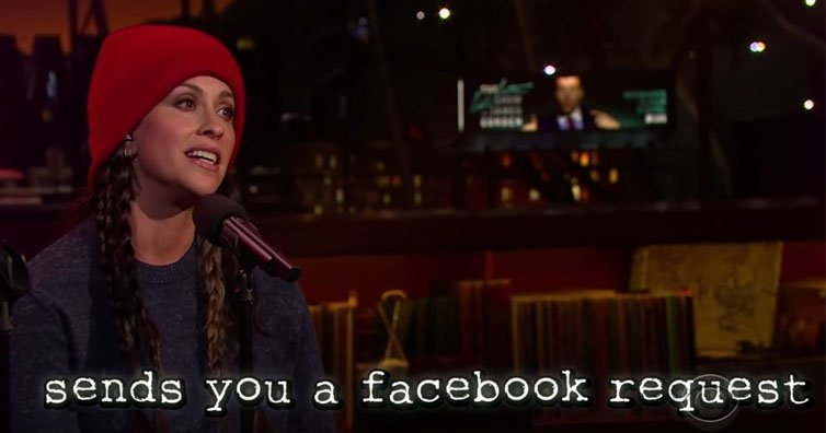 Alanis Morissette Updated 'Ironic' For Today's Problems And it's Hilarious