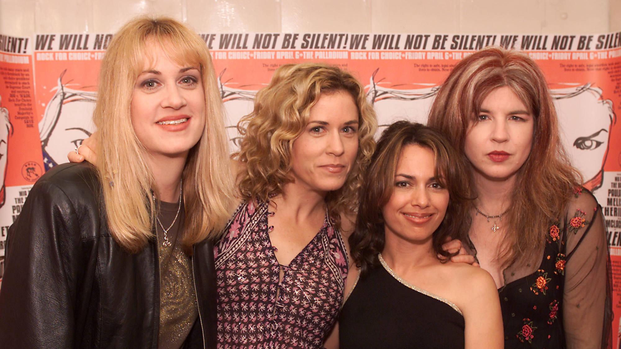 Susanna Hoffs, Debbi Peterson, Vicki Peterson and Annette Zilinskas of The Bangles now