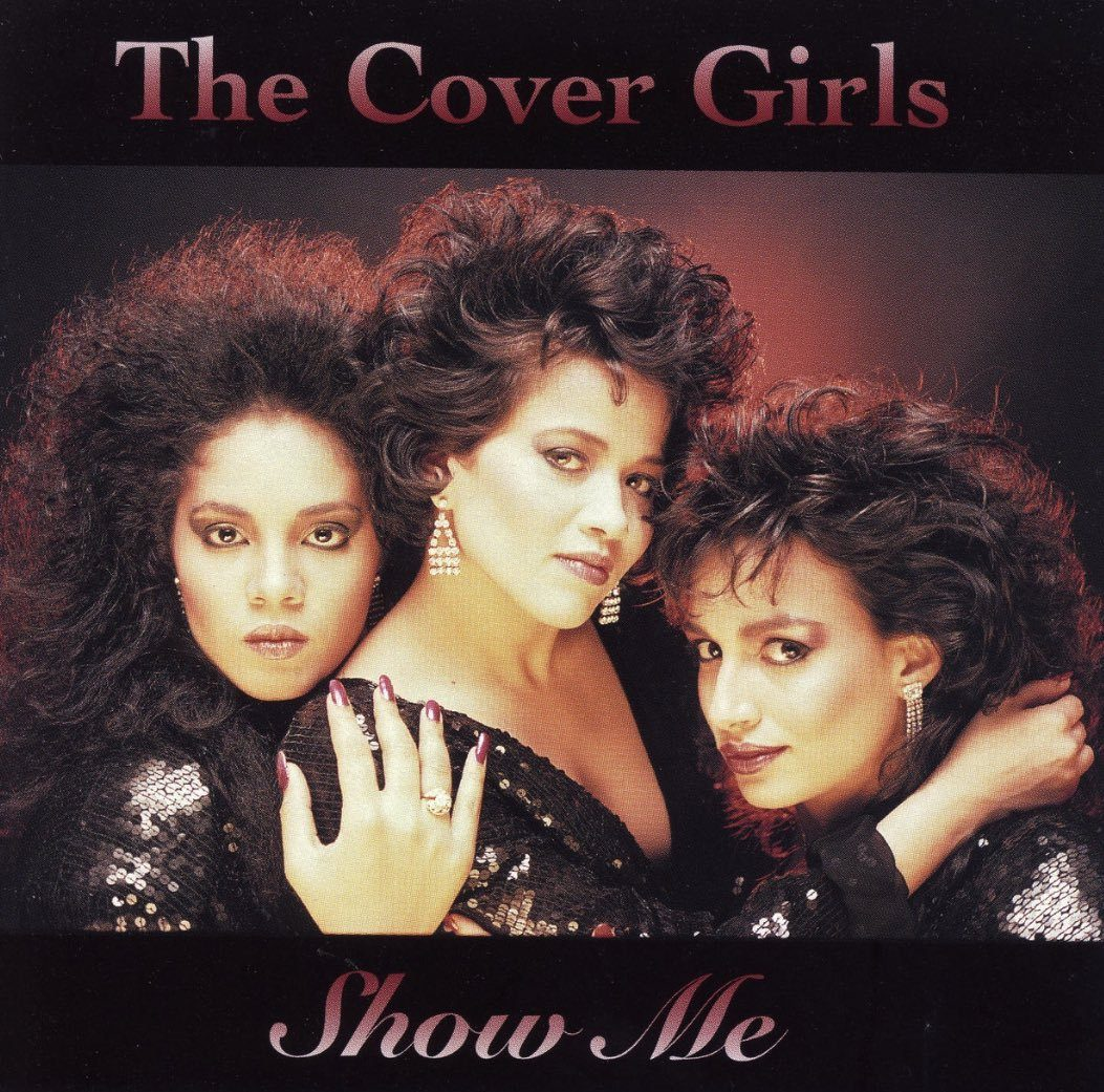 The single cover for 'Show Me' by The Cover Girls