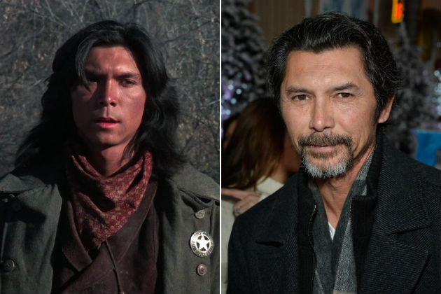 Lou Diamond Phillips then and now