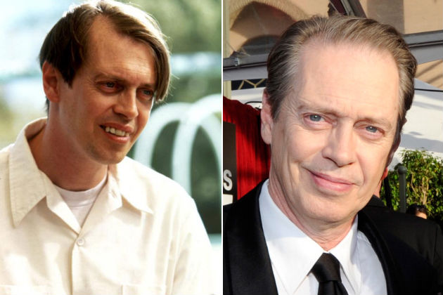 Steve Buscemi now and then