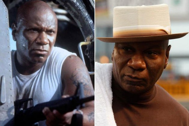 Ving Rhames now and then