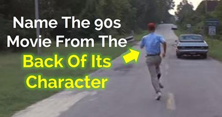 TEST YOURSELF: Can You Name These 21 Unforgettable 90s Movies From The Back Of Their Characters?