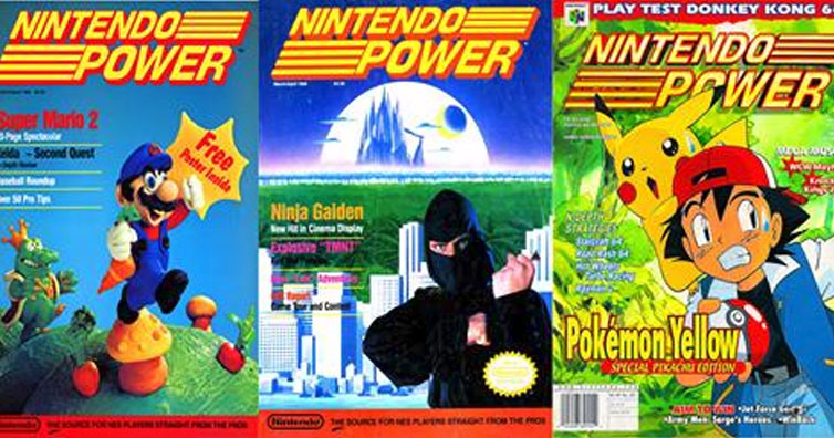 Nintendo Power Magazine Is Now Available For Free Online. You Have To Check This Out!