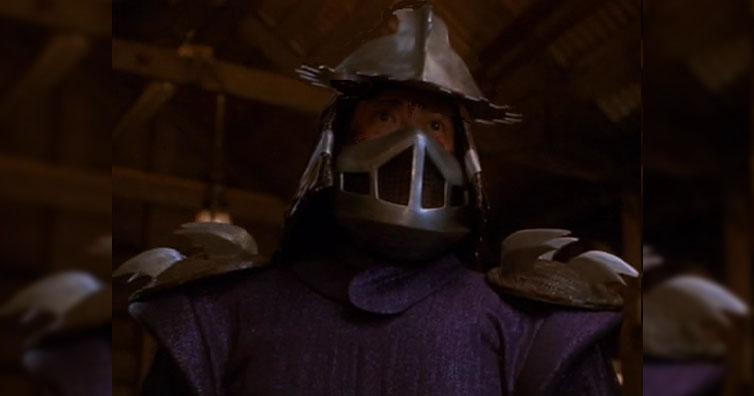 Remember Shredder From Teenage Mutant Ninja Turtles? Here He Is Now!