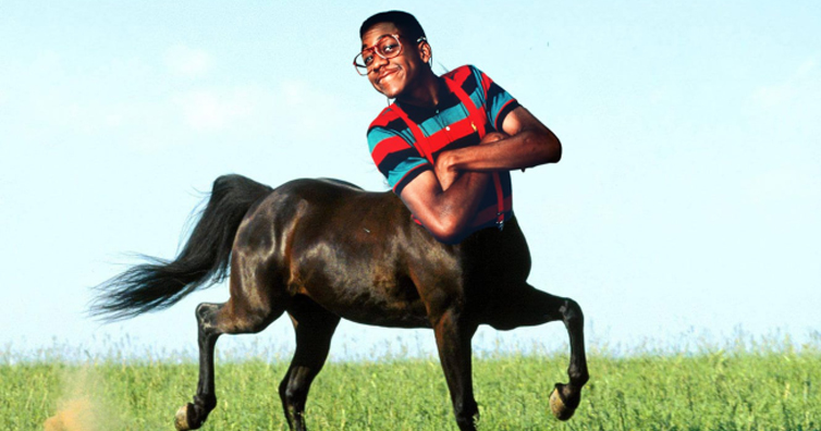 Urkel Makes A Hilarious Comeback As A Centaur Will Have You Laughing All Day