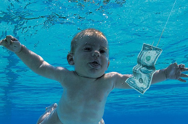 can you match these 90s album covers to their tit 2 19642 1428856958 11 dblbig Here's What The Baby From Nirvana's Nevermind Cover Looks Like Now