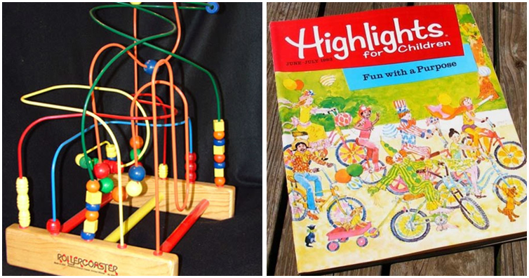 Remember These Toys That You Played With At The Doctor S Office Eighties Kids