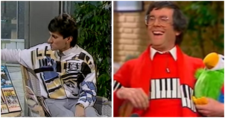 5 Hideous Jumpers That Appeared On British TV In The 80s
