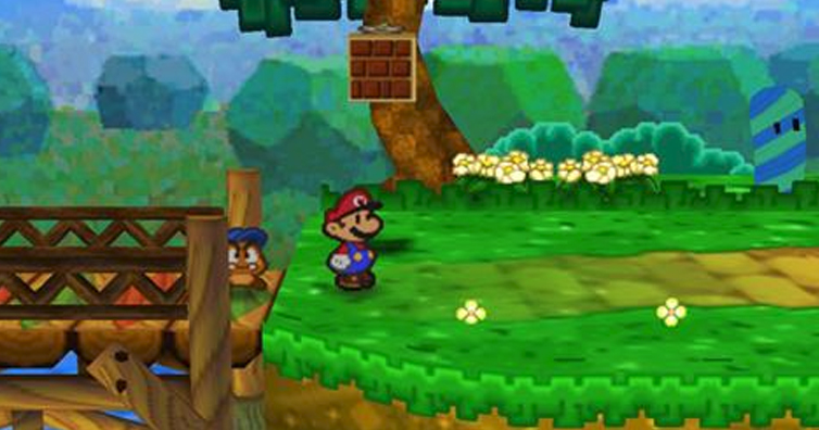 This Glitch On Paper Mario Uncovers A Mind-Blowing Message
