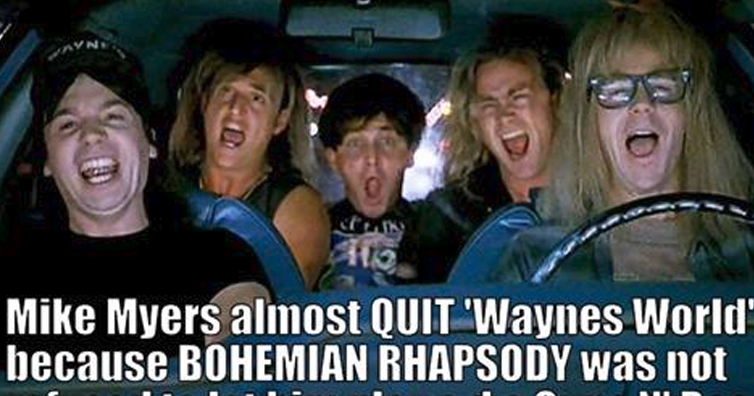 8 Surprising On Set Facts From Filming 'Wayne's World'