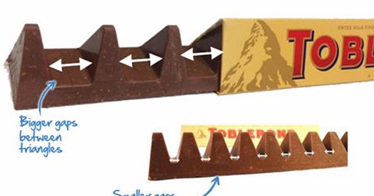 Toblerone Fans Outraged By New-Style Bar With BIGGER Gaps Between Triangles As Makers Cut Costs