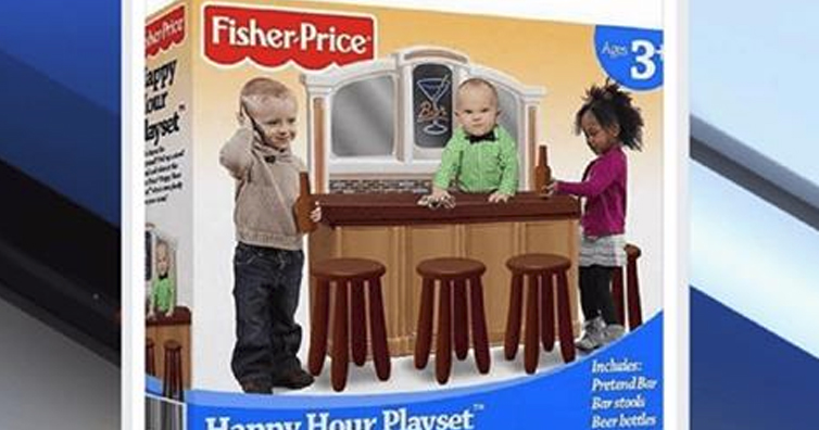 This Fake 'Happy Hour Playset' Caused An Unreal Amount Of Social Media Outrage