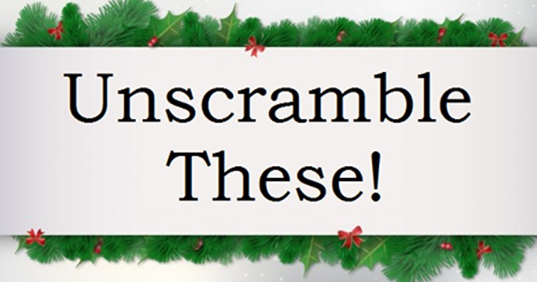 TEST YOURSELF: Can You Guess The Iconic Christmas Movie By An Anagram Of Its Name?