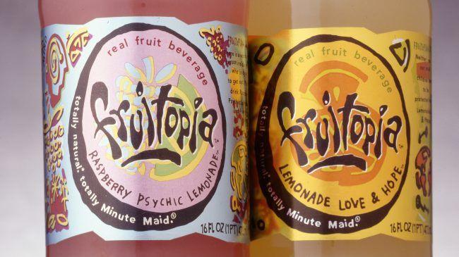 Bottles of Fruitopia