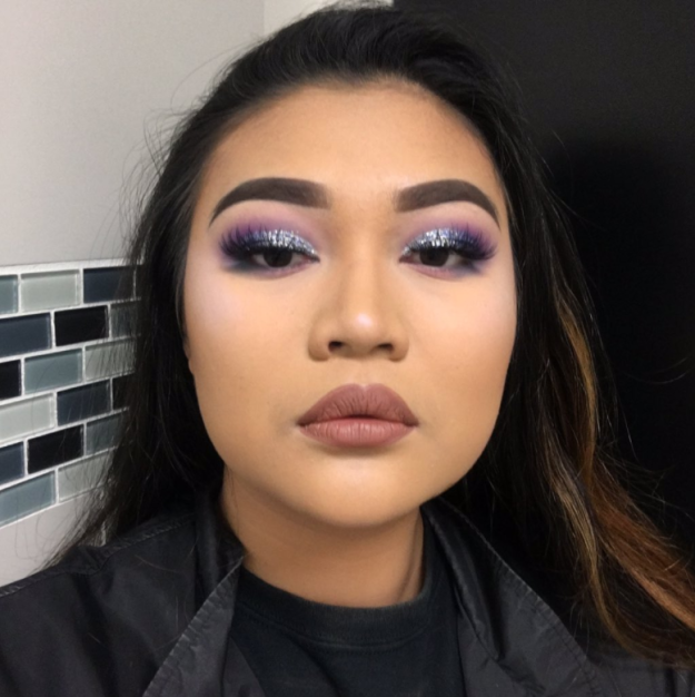 Bob Ross 1 People Are Obsessed With This Teen's Bob Ross–Inspired Eyeshadow