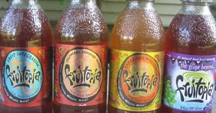 What Ever Happened To Fruitopia, The Grooviest Drink Of The '90s?